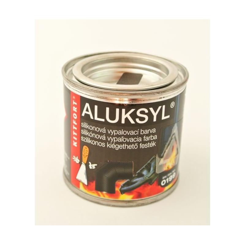 Kittfort Aluksyl čierna žiaruvzdorn 225 Farba 80 G Dofal