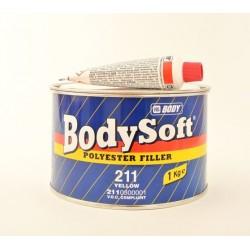 BODY Soft 211 polyesterový tmel žltý 1 kg