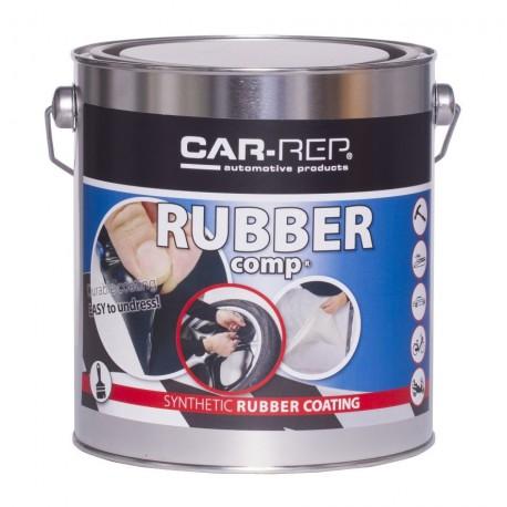 RubberComp farba šedá gunmetal tekutá guma 3 litre