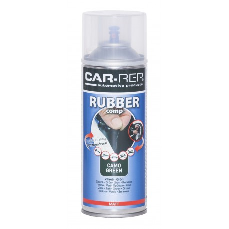 RubberComp tekutá guma zelený kamuflážny sprej 400 ml