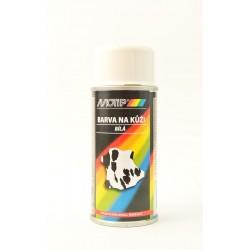Biela farba na kožu v spreji MoTip 150 ml