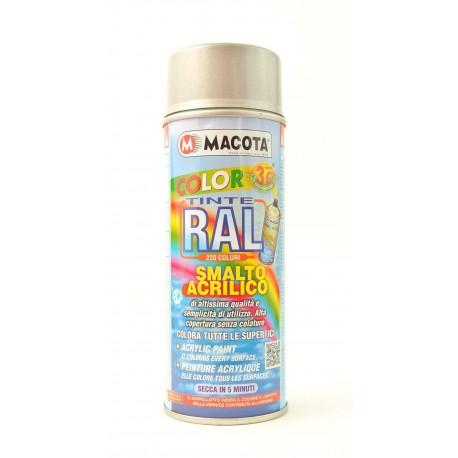 MACOTA COLOR 3G akrylátový sprej RAL 9007 400 ml