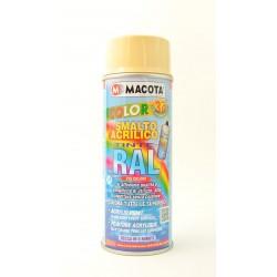 MACOTA COLOR 3G akrylátový sprej RAL 1014 slonová kosť 400 ml