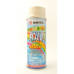 MACOTA COLOR 3G akrylátový sprej RAL 9002 400 ml šedobiela