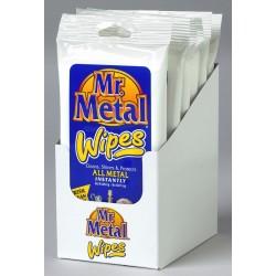 FORMULA 1 Mr. Metal Wipes utierky na čistenie chrómu a kovov 16 ks