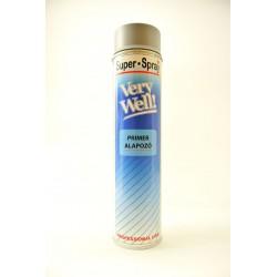 MoTip Very Well sprej sivá základná farba 600 ml