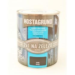 HOSTAGRUND S 2160 farba na železo 2v1 0199 čierna 0,6 l