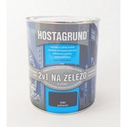 HOSTAGRUND S 2160 0280 hnedá palisander základná a vrchná farba 2v1 0,6 l