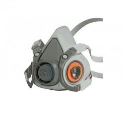 3M 6100 dýchacia polomaska opakované použitie veľkosť S (bez filtrov)