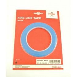 CARSYSTEM FINE LINE modrá kontúrovacia páska 6 mm x 33 m