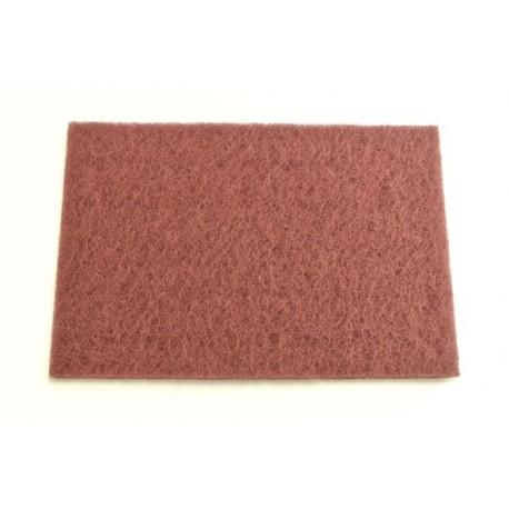 SMIRDEX brúsne rúno (vlies) 152 x 229 mm jemné červené
