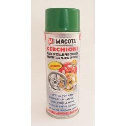MACOTA CERCHIONI sprej farba na disky zelená metalíza 400 ml