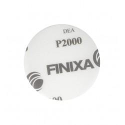 FINIXA brúsny kotúč suchý zips D75 mm bez dier P2000