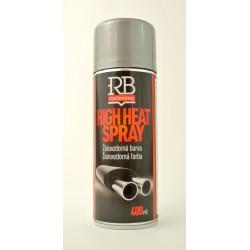 RB strieborný sprej na výfuk 400 ml