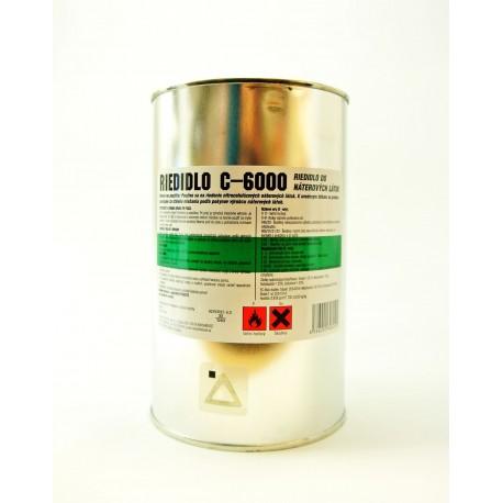 ELASTIK C 6000 nitrocelulózové riedidlo 1 l