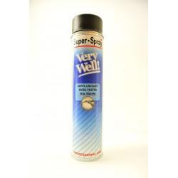 MoTip Very Well matný čierny sprej RAL 9005 600 ml