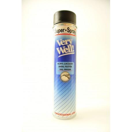 MoTip Very Well sprej RAL 9005 matný 600 ml
