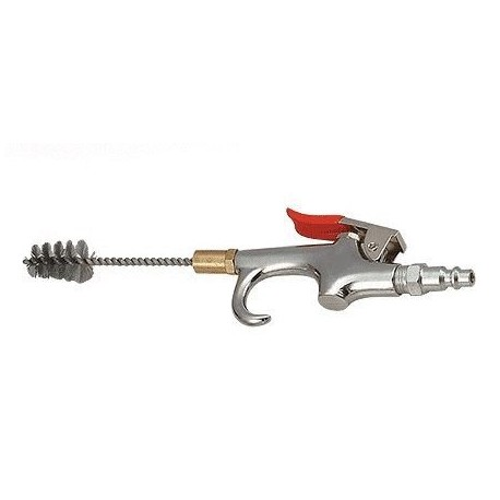 LUSCI 432 ofukovacia pištoľ s čistiacou kefkou