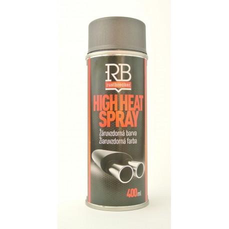 RustBreaker antracitový sprej na výfuk 400 ml