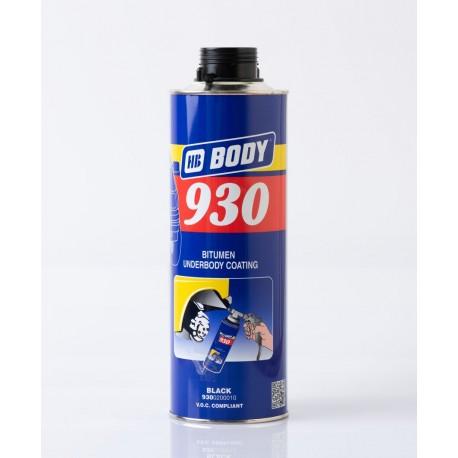 BODY 930 nástrek na podvozok čierny 1 liter