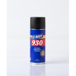 BODY 930 sprej nástrek na podvozok čierny 400 ml