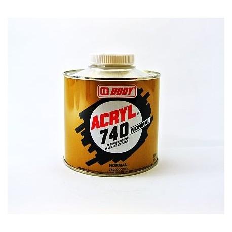 BODY 740 ACRYL akrylátové riedidlo normálne 500 ml