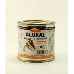ALUXAL TITANIUM vypaľovacia striebrenka 100 g