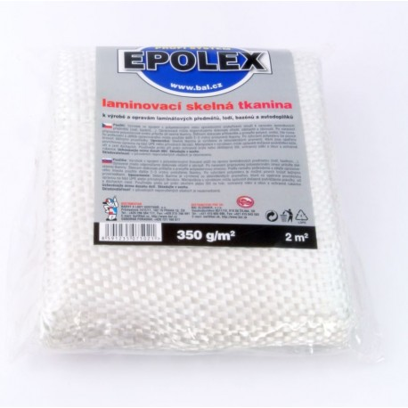 BAL EPOLEX hrubá sklenená tkanina 350 g 2 m2