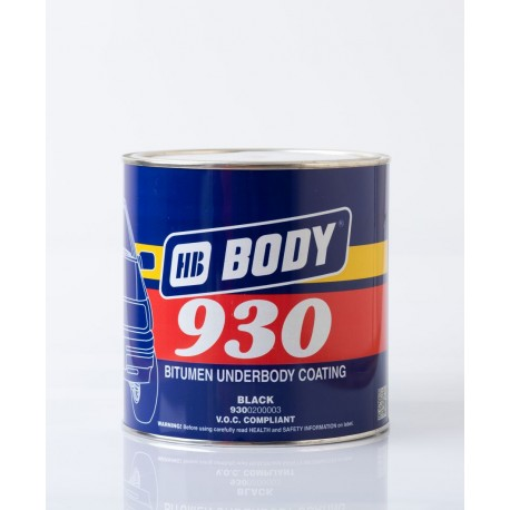 BODY 930 náter na podvozky čierny 2,50 kg