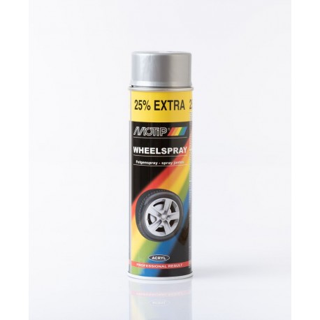 MoTip strieborný sprej na disky 500 ml