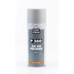 BODY P360 sivý základový plnič v spreji 400 ml