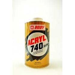 BODY 740 ACRYL akrylátové riedidlo normálne 1 l