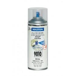 Maston ACRYLcomp biely pololesklý sprej 400 ml