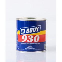 BODY 930 náter na podvozky čierny 1 kg
