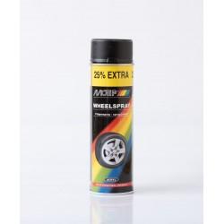 MoTip matný čierny sprej na disky 500 ml