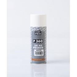BODY P360 biely základový plnič v spreji 400 ml
