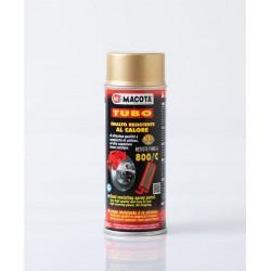 MACOTA žiaruvzdorný sprej na výfuk zlatý 400 ml
