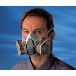 3M 6000 dýchacia polomaska opakované použitie A1P1