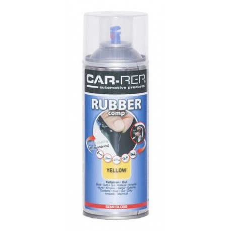 RubberComp tekutá guma žltý sprej 400 ml