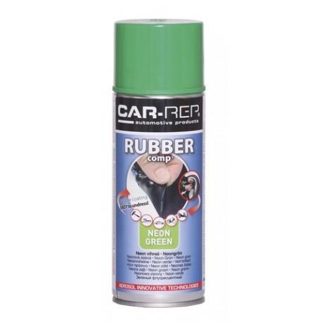 RubberComp tekutá guma reflexný zelený sprej 400ml
