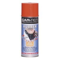 RubberComp tekutá guma fluorescenčný oranžový sprej 400 ml