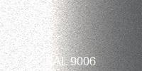 Farba RAL 9006 biely hliník