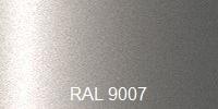 Farba RAL 9007 sivý hliník
